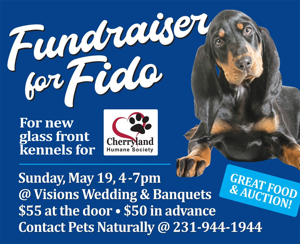 Fundraiser for Fido May 19th, 2019